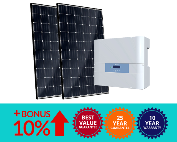 UV Power Brisbane Solar Company System Upgrade Bonus Canadian solar delta inverter