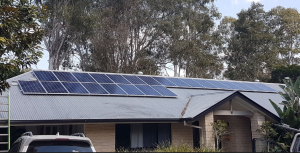 Anstead Solar Panel installation