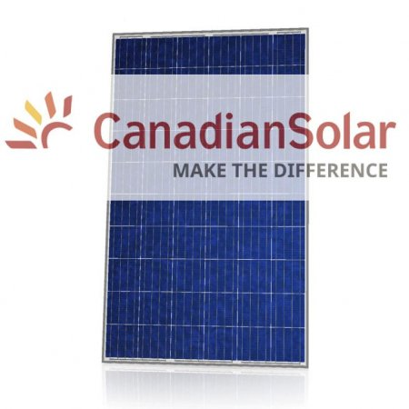 Canadian Solar Make the Difference Solar Panel brochure