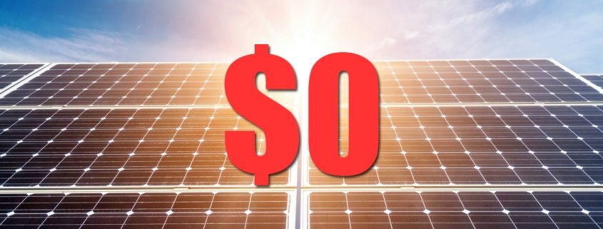 government interest free solar