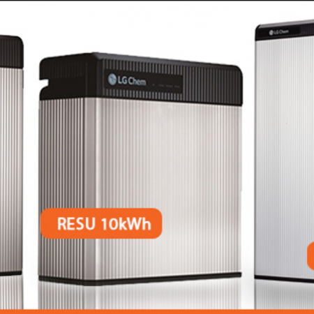 Solar batteries RESU LG Chem