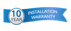 10th Year Installation Warranty