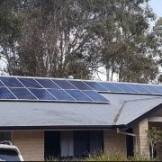 Ipswich Solar installation front of house