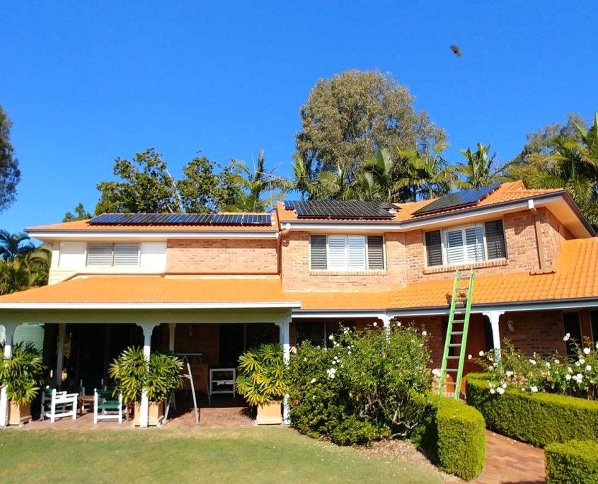Jindelee Solar Installation