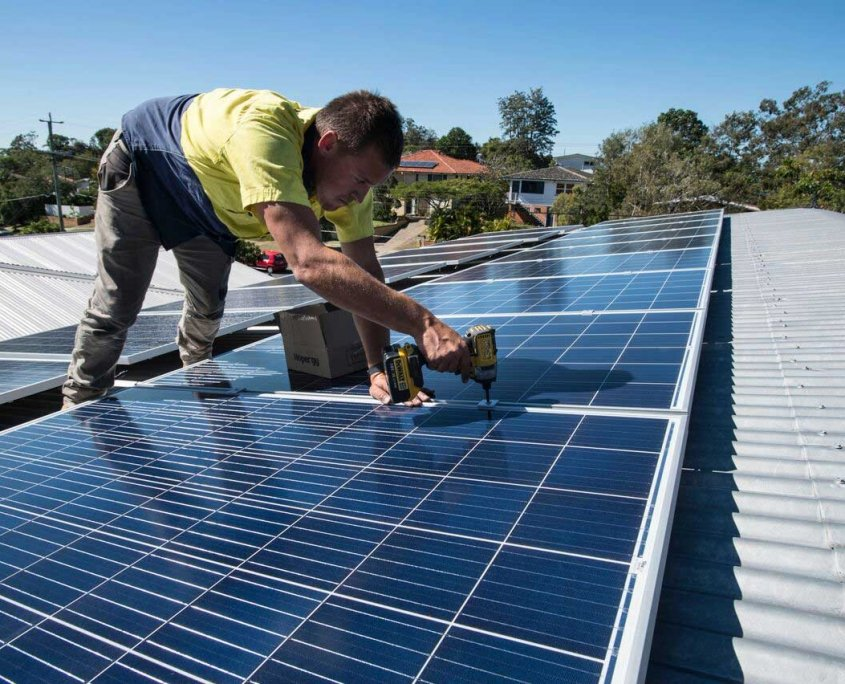 Brisbane Solar Installation - Stafford Trina Panels