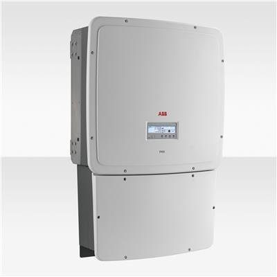 ABB String TRIO Solar Inverter on a white background