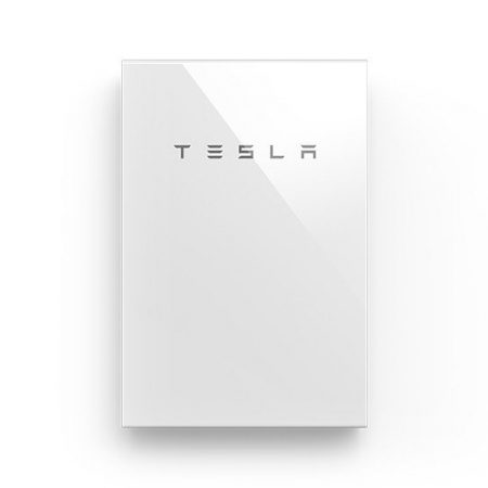 Tesla Powerwall 2 on a white background