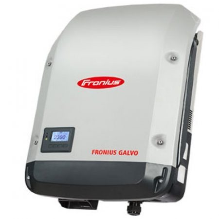 Fronius Galvo Solar Inverter on a white background